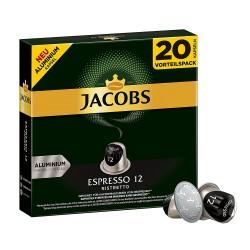 Jacobs Espresso Ristretto Big Pack- Nespresso Compatible coffee capsules
