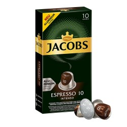Jacobs Espresso Intenso - Nespresso Compatible coffee capsules