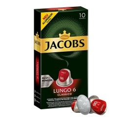 Jacobs Lungo Classico- Nespresso Compatible coffee capsules