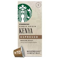 Starbucks Kenya Espresso  Capsules