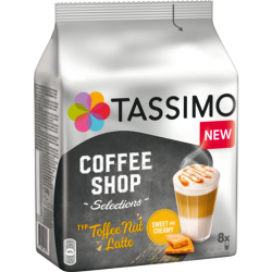 Tassimo Toffee Nut Latte - Coffee Shop Selections