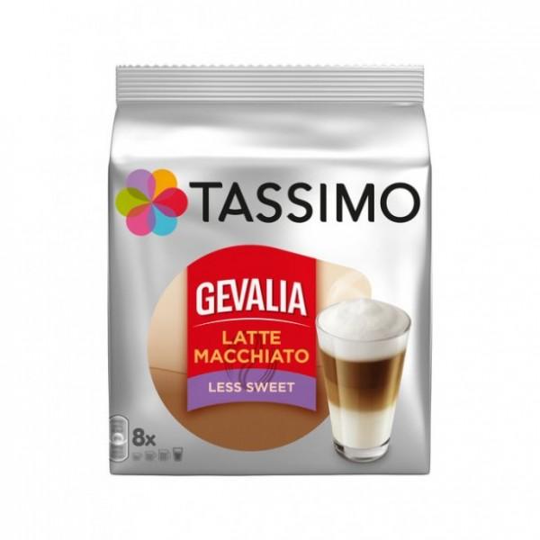 Tassimo Gevalia Latte Macchiato Less Sweet / Тасимо Гевалиа Лате Макиато с по-малко захар