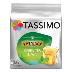 Tassimo Twinings Green Tea & Mint / Тасимо Зелен Чай и Мента