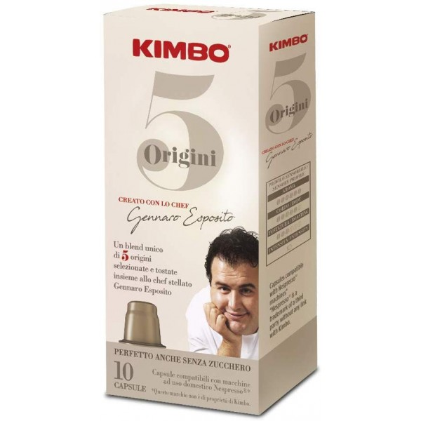 Kimbo  5 Origini  - Nespresso compatible