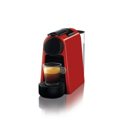 Essenza Nespresso Mini Delonghi - Ruby Red D30 + Starter pack - 28 capsules