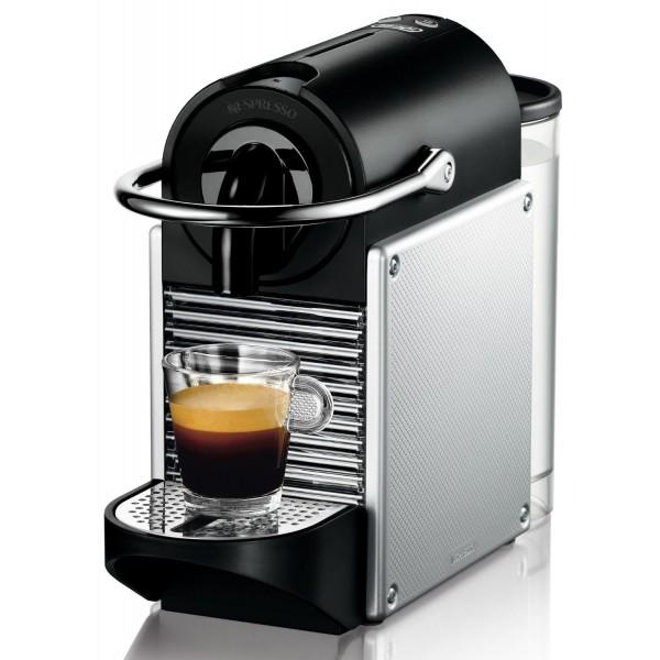 DeLonghi Nespresso Pixie Aluminium