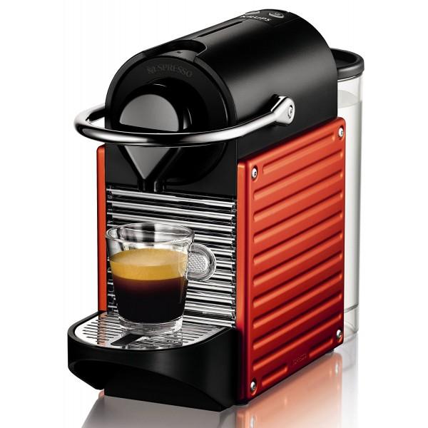 Krups Nespresso Pixie - Електриково Червено