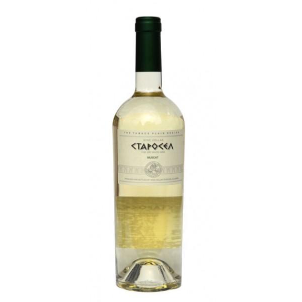 Muscat Starosel 750 White Wine